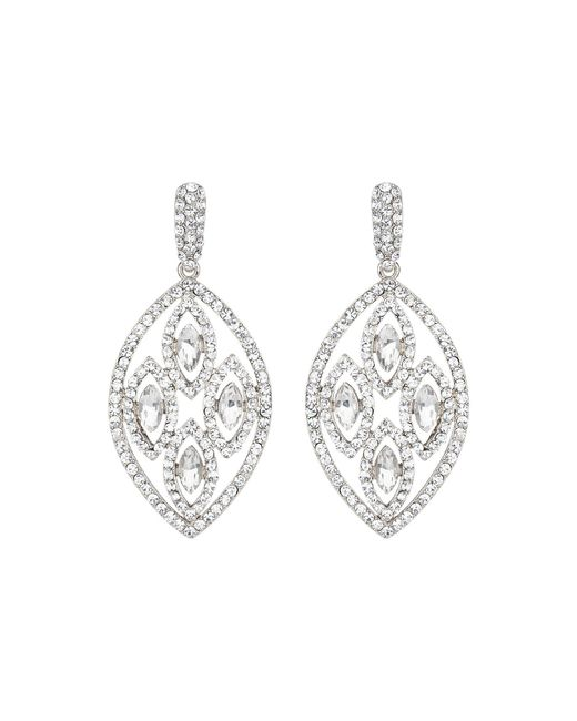 Mikey | Metallic Filligree Multi Ovals Drop Earring | Lyst