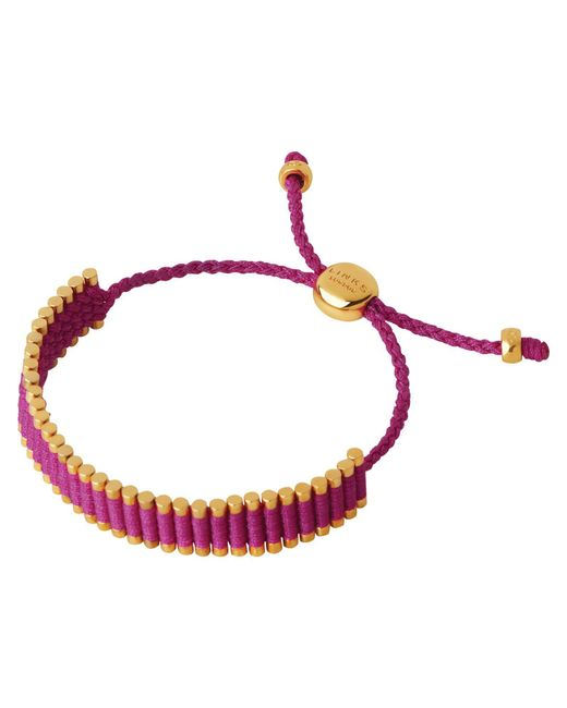 Links of London | Purple Hot Pink Friendship Bracelet | Lyst
