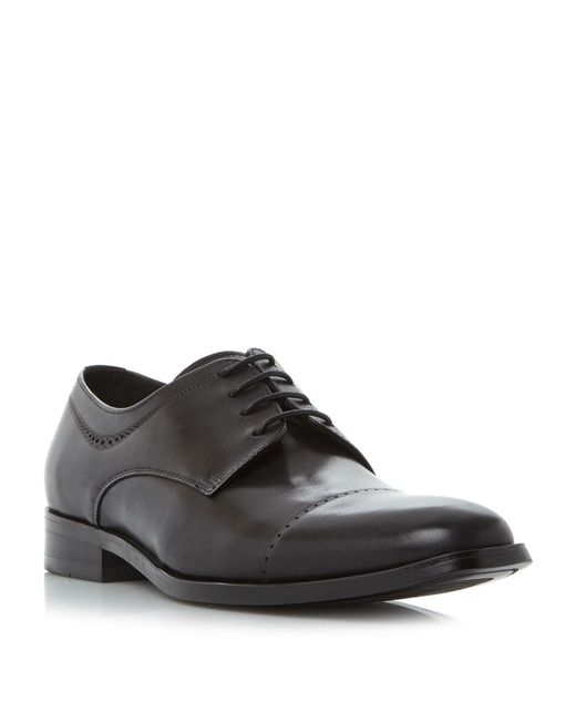 Kenneth Cole | Black Leisure Time 4 Eye Toecap Gibson Shoe for Men | Lyst