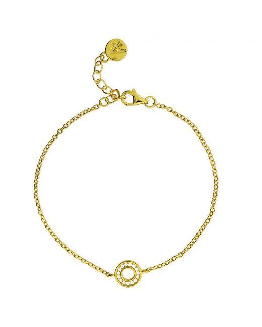 Azendi | Metallic Gold Vermeil Square Bracelet | Lyst