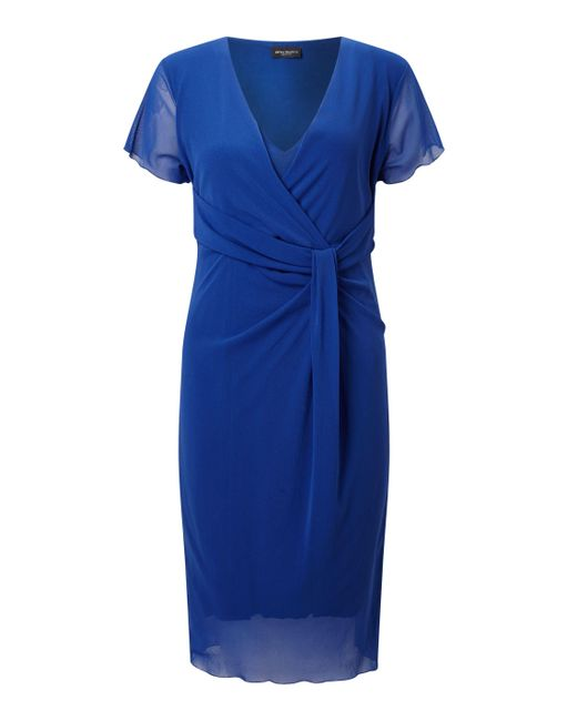 James Lakeland | Blue Tulle Knot Dress | Lyst