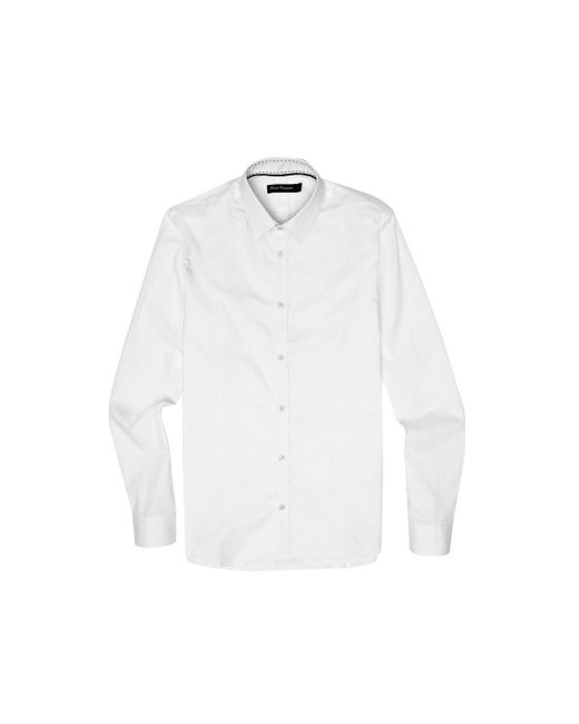 French Connection - White Formal Cotton Shirt for Men - Lyst