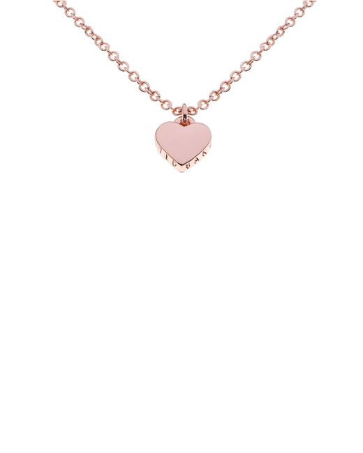 Ted Baker | Multicolor Ted Baker Exclusive To Asos Silver,fuchsia and Orange Acrylic Bow Pendant Necklace | Lyst