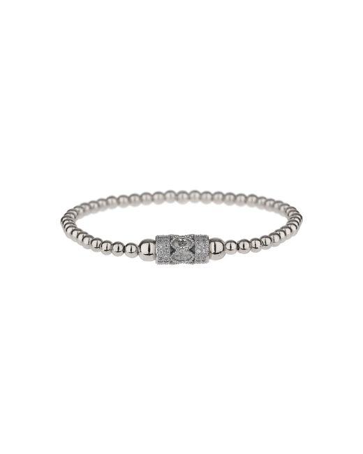 Mikey | Metallic Fine Cubic Filigre Tube Elastic Bracelet | Lyst