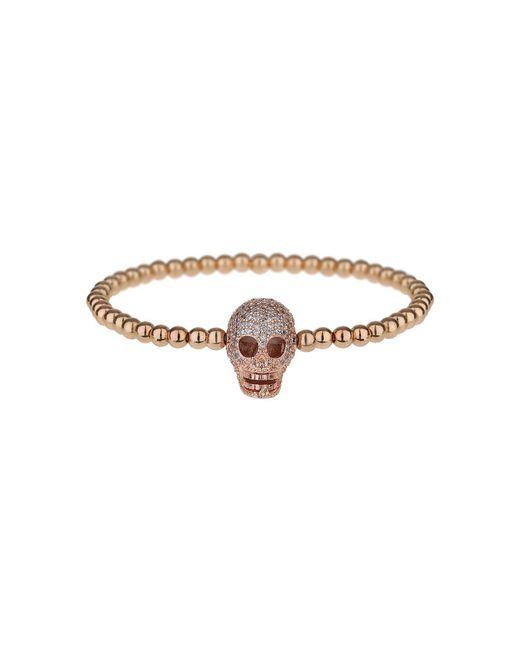 Mikey   Multicolor Fine Cubic Skull Elastic Bracelet   Lyst