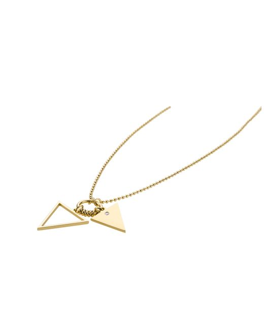 Storm - Metallic Rohaise Necklace Gold - Lyst
