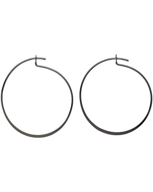 Pilgrim | Metallic Hematite Colour Earrings | Lyst