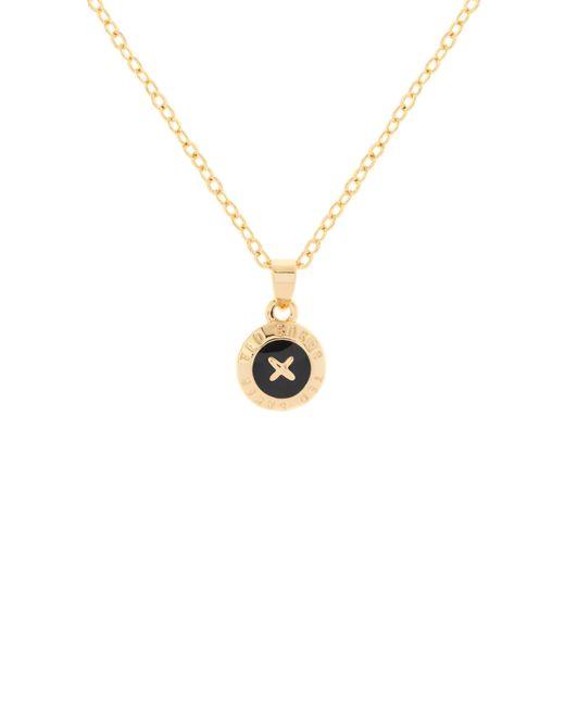 Ted Baker | Metallic Elvina Enamel Mini Button Pendant Necklace | Lyst