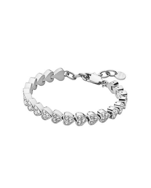 Dyrberg/Kern | Metallic Tf Muamor Ss Crystal Metal Bracelet | Lyst