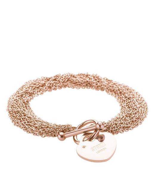 Storm | Metallic Lorello Bracelet Rose Gold | Lyst