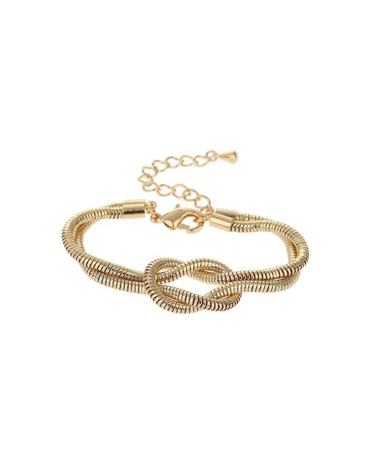 Mikey | Metallic Twsited Lock Bracelet | Lyst