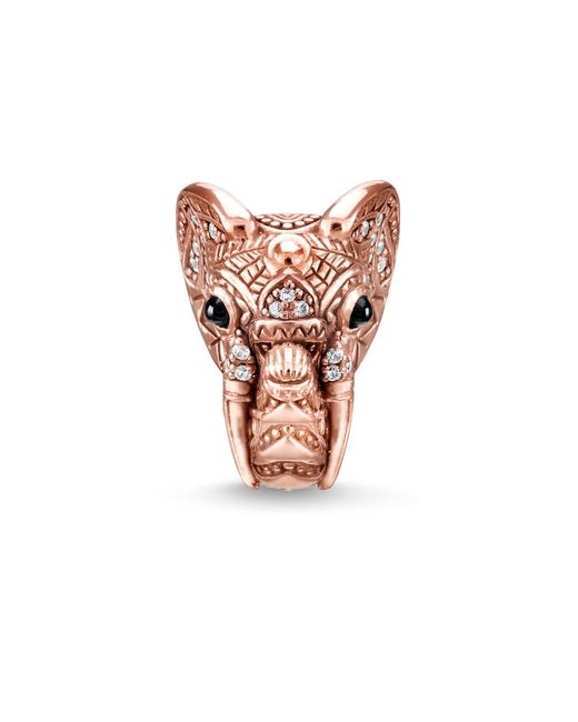 Thomas Sabo | Multicolor Elephant`s Head Karma Bead | Lyst