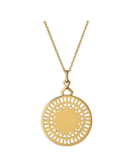 Links of London | Metallic Timeless 18kt Yellow Gold Vermeil Necklace | Lyst