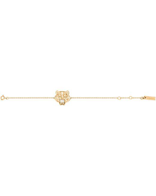 KENZO | Metallic 263820108190 Gold & Opal Bracelet | Lyst