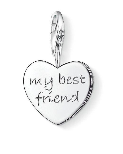 Thomas Sabo | Metallic Charm Club My Best Friend Heart | Lyst