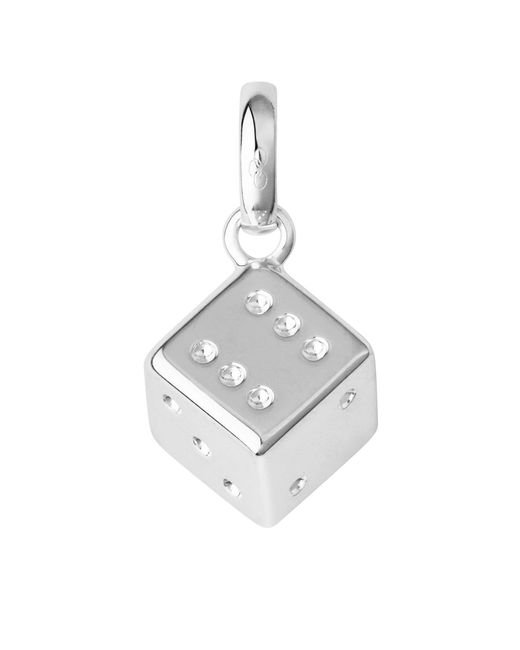 Links of London - Metallic Sterling Silver Lucky Dice Charm - Lyst