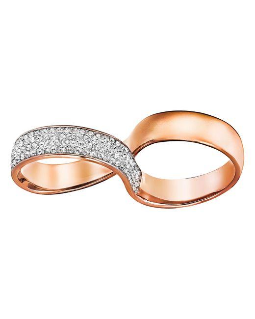 Swarovski | Metallic Exist Ring | Lyst