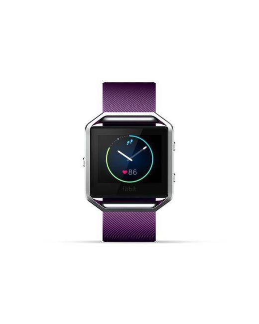 Fitbit - Multicolor Blaze Smart Fitness Watch Large, Plum - Lyst