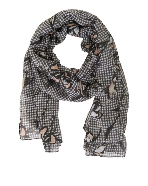 Betty & Co. - Multicolor Gingham Print Scarf - Lyst