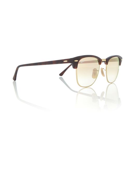 Ray-Ban | Black Havana Square Rb3016 Sunglasses for Men | Lyst