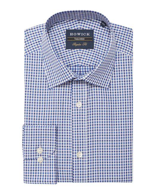 Howick   Blue Men's Belleville Gingham Twill Shirt for Men   Lyst