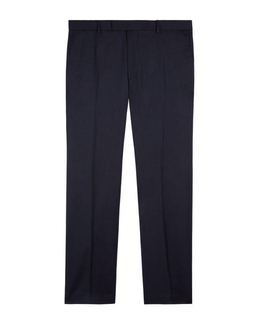 Jaeger - Blue Men's Slim Plain Twill Trouser for Men - Lyst