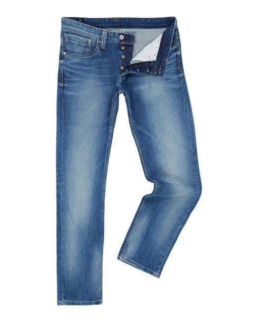 Pepe Jeans - Blue Men's Cash Mens Jeans for Men - Lyst