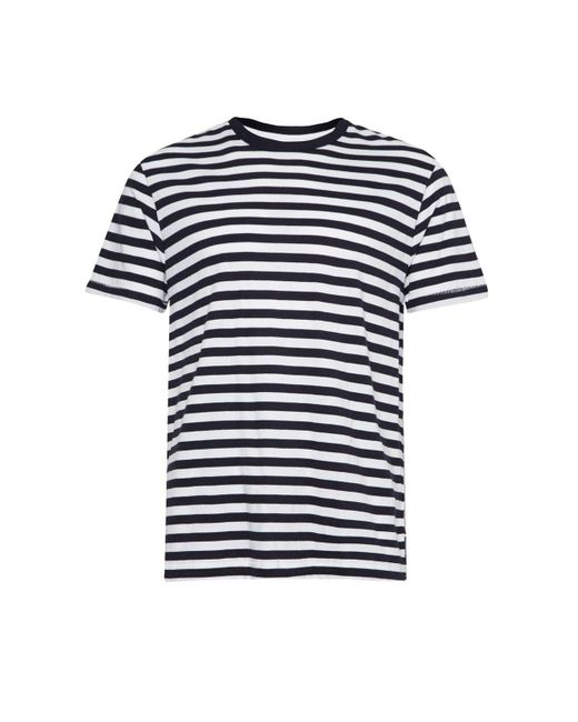 French Connection - Blue Men's Nautical Stripe Jersey T-shirt for Men - Lyst