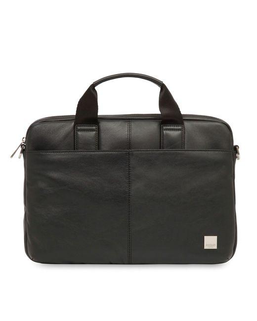Knomo | Black Stanford 13 Briefcase Bag for Men | Lyst