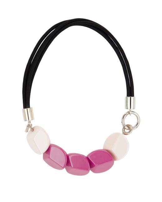 Hobbs - Purple Carmella Necklace - Lyst