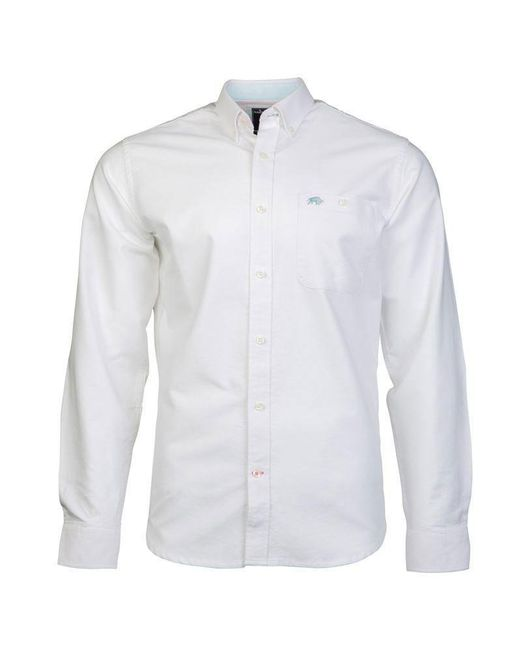 Raging Bull | White Men's Big And Tall Ls Signature Oxford Shirt for Men | Lyst