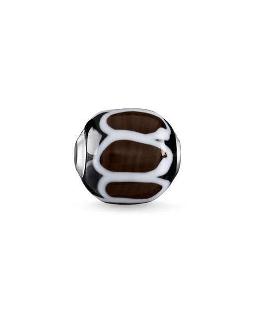 Thomas Sabo - Multicolor Brown Glass Hand-crafted Africa Karma Bead - Lyst