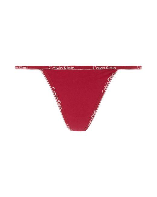 Calvin Klein   Pink Ck Id String Thong   Lyst