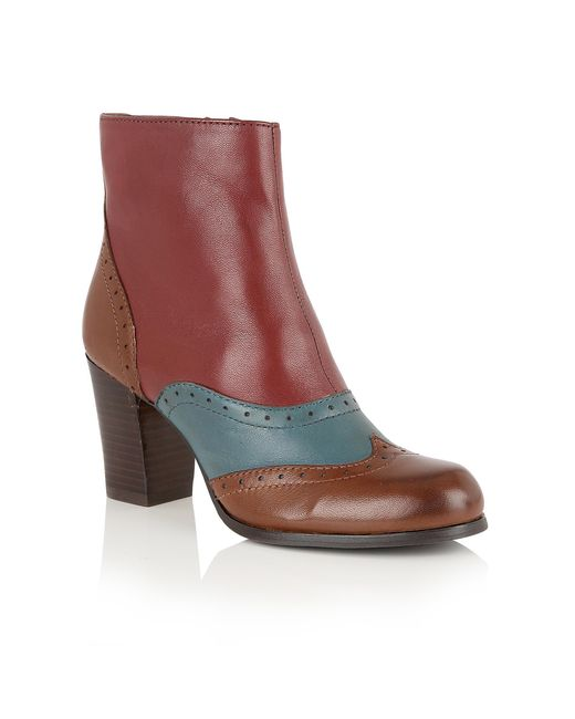 Lotus - Multicolor Halona Ankle Boots - Lyst