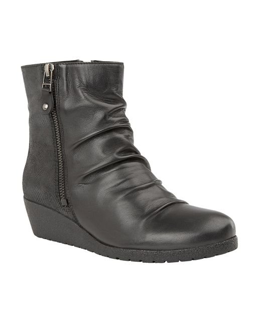 Lotus | Black Sonora Ankle Boots | Lyst