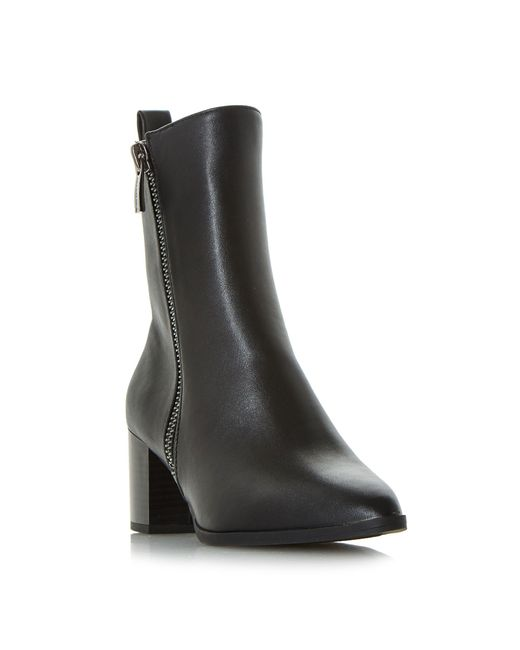 Dune - Black Renay Point Formal Calf Boots - Lyst