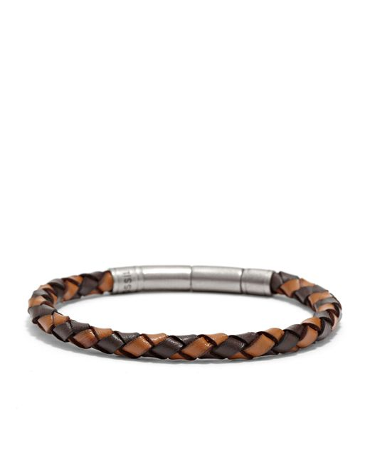 Fossil - Brown Jf00509797 Mens Bracelet for Men - Lyst