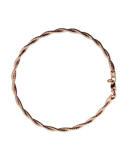 Azendi - Metallic Rose Double Strand Bracelet - Lyst