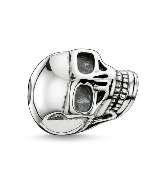Thomas Sabo | Metallic Karma Bead Large Skull | Lyst