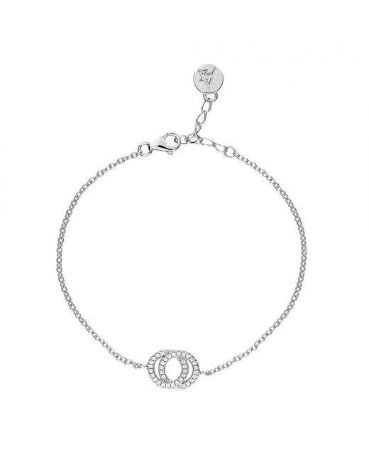 Azendi - Metallic Reversible Circles Bracelet - Lyst