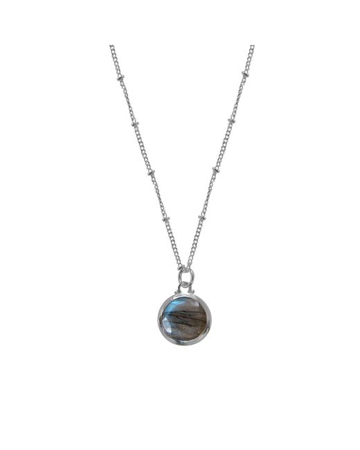 Juvi Designs - Metallic Sterling Silver Egadi Round Pendant - Lyst