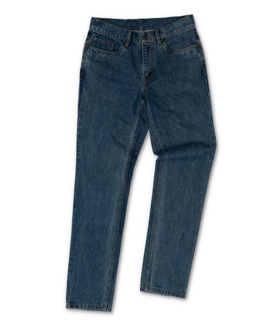 Raging Bull - Blue Dark Denim Jeans for Men - Lyst