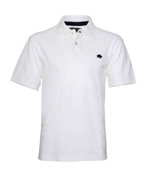 Raging Bull - White New Signature Polo Shirt for Men - Lyst