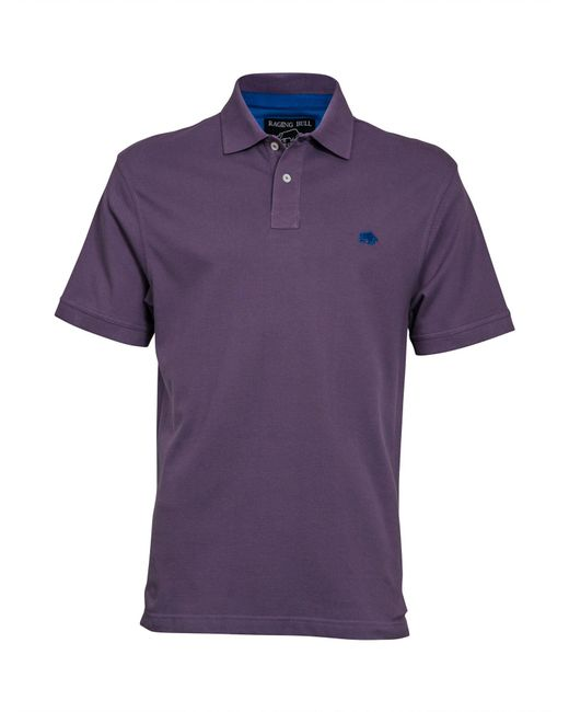Raging Bull - Purple Big And Tall New Signature Polo Shirt for Men - Lyst
