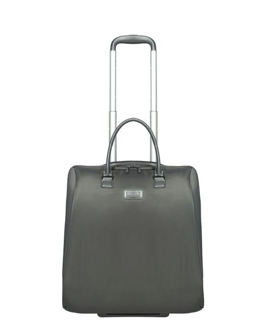 Lipault | Gray Lady Plume Anthracite Grey Rolling Tote 15 Inch | Lyst