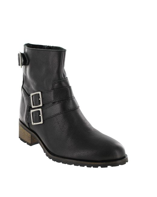 Marta Jonsson | Black Women`s Ankle Boot With Zip | Lyst