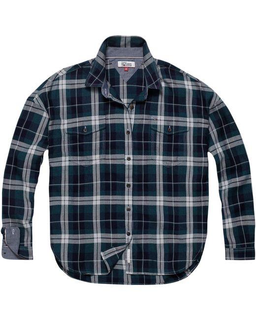 Tommy Hilfiger - Blue Check Shirt for Men - Lyst