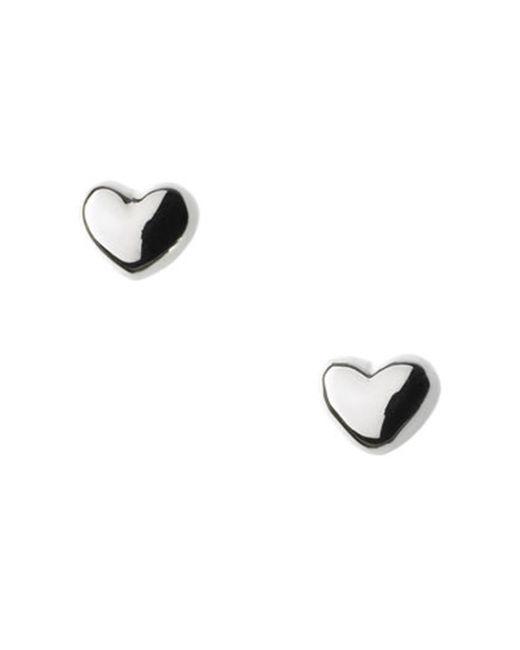 Links of London - Metallic Heart Baby Earrings - Lyst