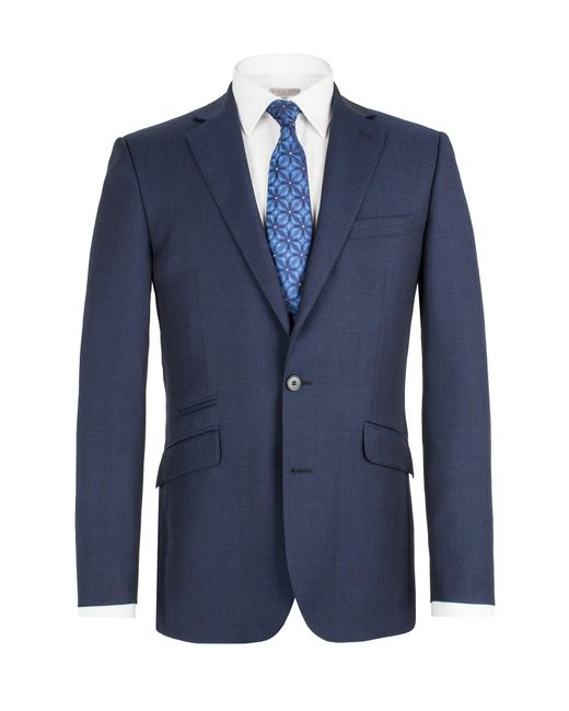 Alexandre Savile Row - Blue Single Breasted Tail Jacket for Men - Lyst