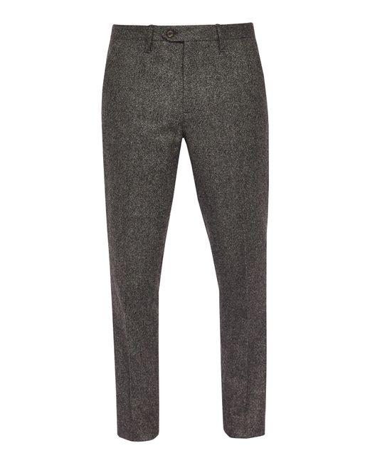 Ted Baker | Gray Instro Mini Design Trousers for Men | Lyst